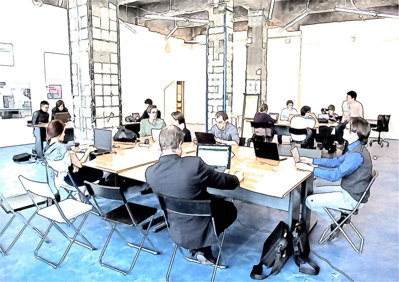 Freelancing Business Work Team