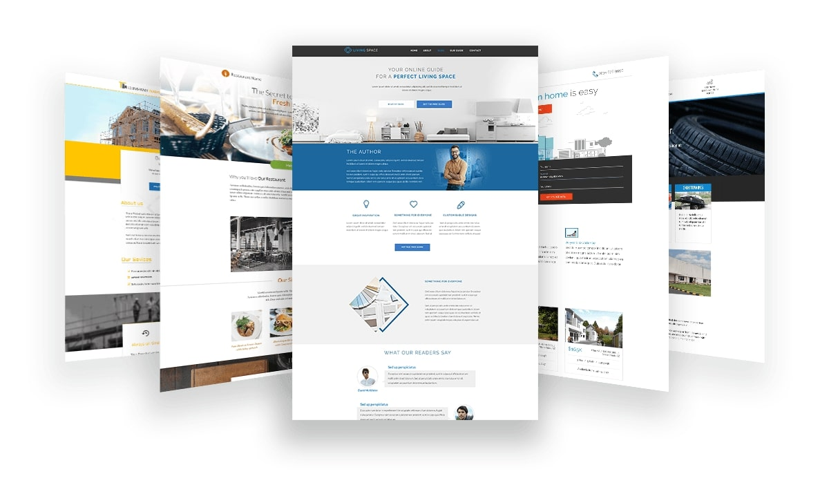 Thrive Architect Landing Pages Templates