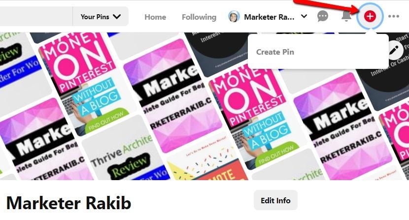 Create Pinterest Pin