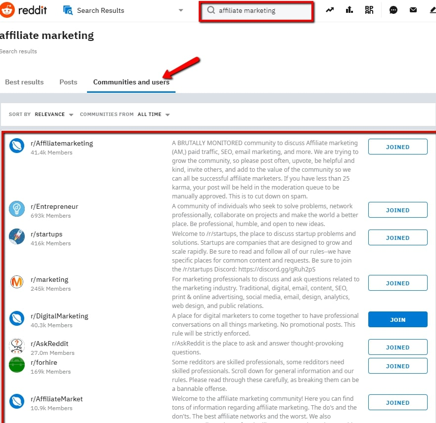 Promote Affiliate Products on Reddit Communities