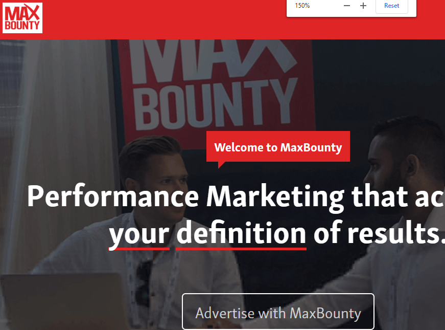 Maxbounty is the best CPA network