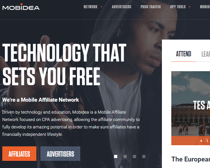 Mobidea is The Best CPA Network for Mobile