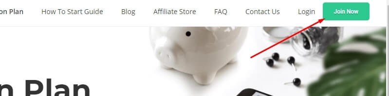 Fiverr Affiliate Sign up page