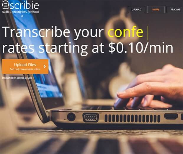 Scribie review