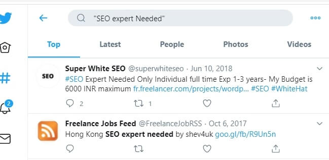 Twitter Jobs Search