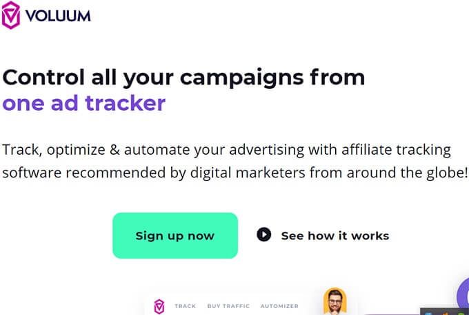 Best Affiliate Link Tracking Software-Voluum