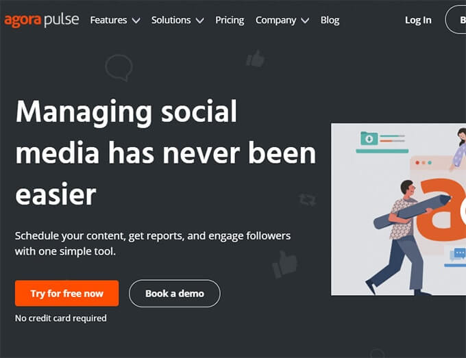 Best Facebook Poster Tool AgoraPluse Review