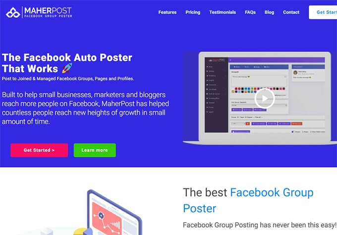 Best Facebook Group Poster tool MaherPost Review