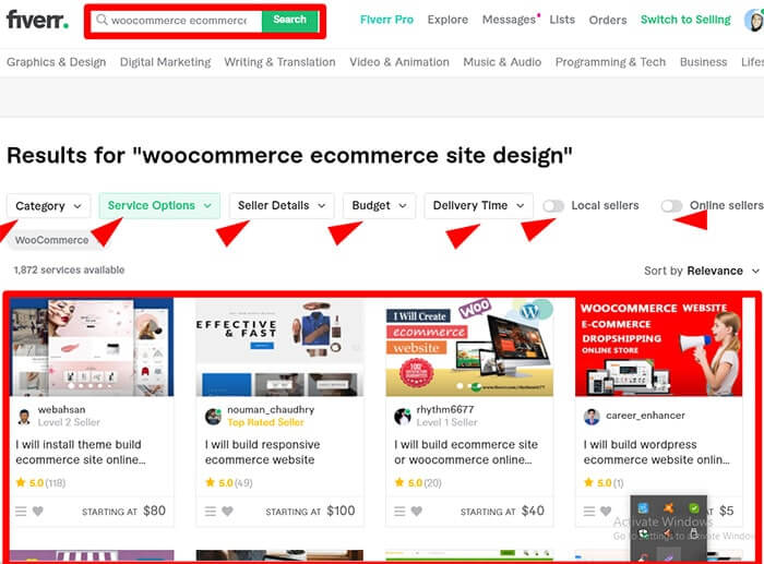 Hire a WooCommerce Developer From Fiverr