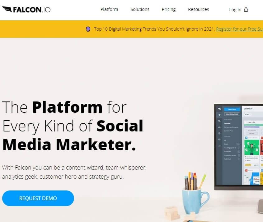 Falcon.io Social Media Man