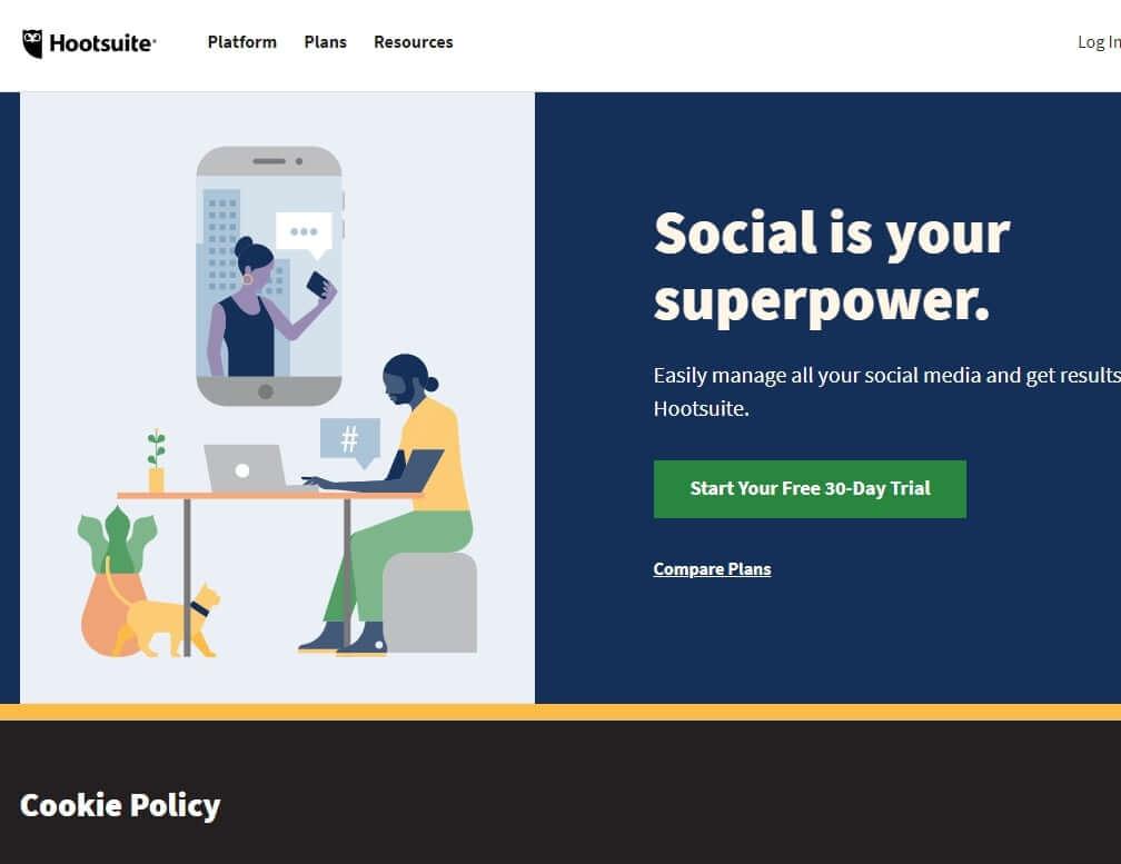 Hootsuite is Top Social Media Management Tools