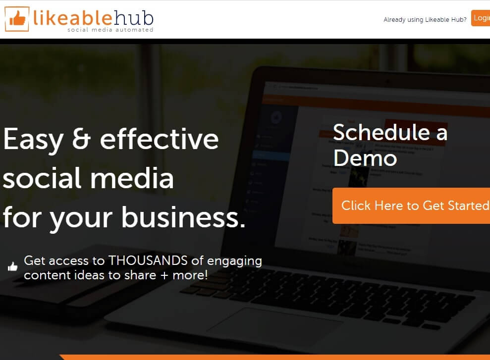 Likeablehub best Social media Management software review