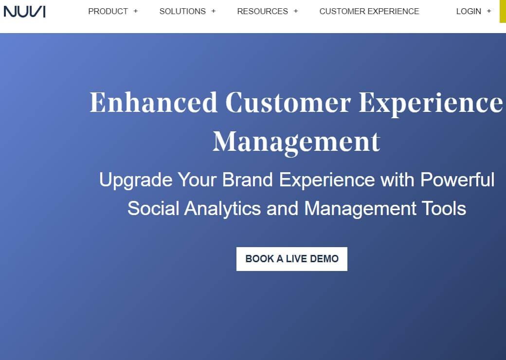 Nuvi Social Media Management Tools