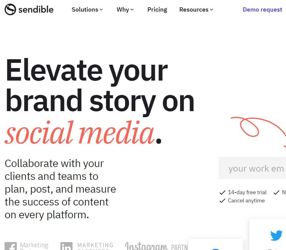Best Social Media Management SoftwareSendible