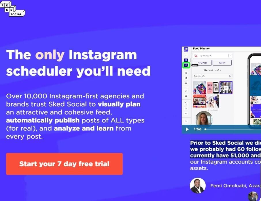 Sked Social top Social Media Management tools