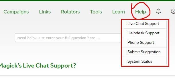 ClickMagick Support