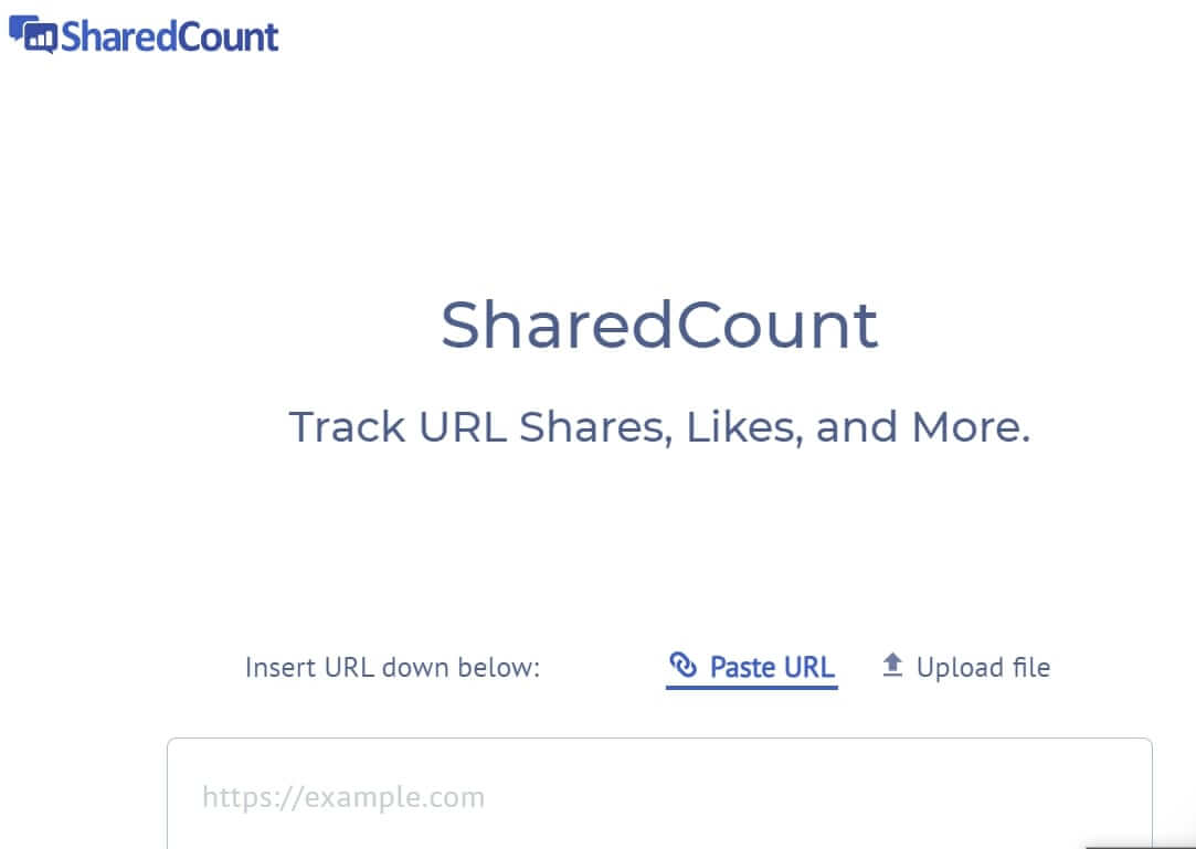 sharedCount Social Media Management Software