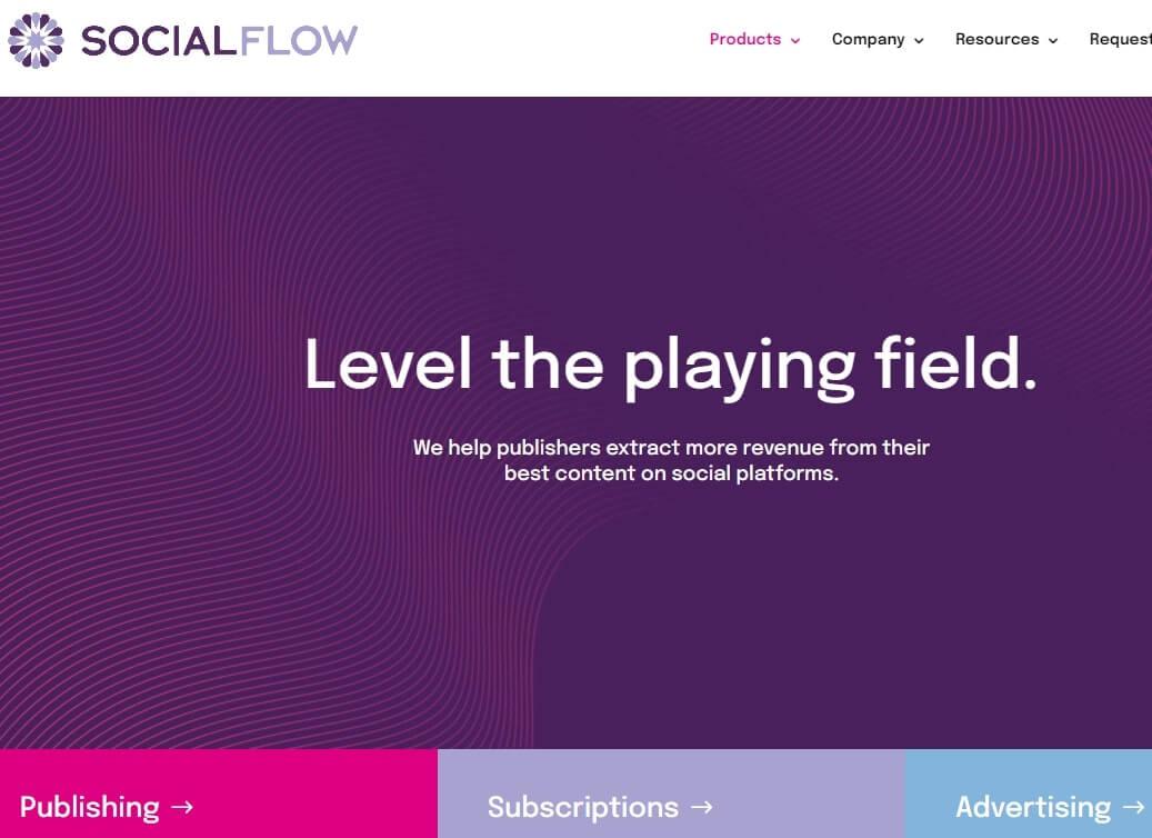 social flow Social Media Software