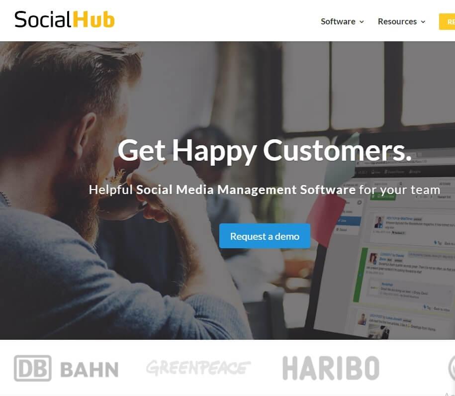 socialhub is the top social Media Management tools