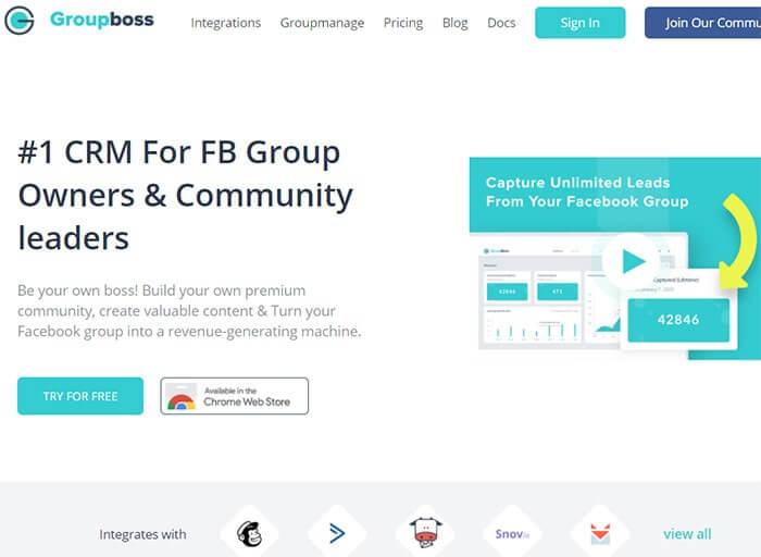 Group Boss- Facebook Group Management Software