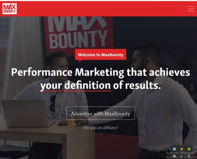 Maxbounty Affiliate Networks For Two Tier
