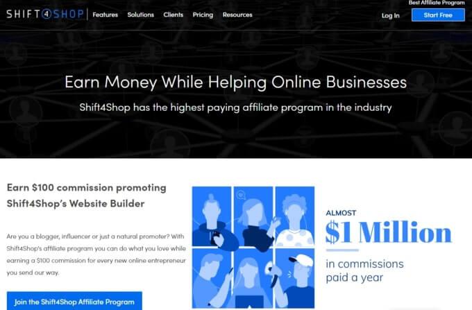 Shift4shop Affiliate Program