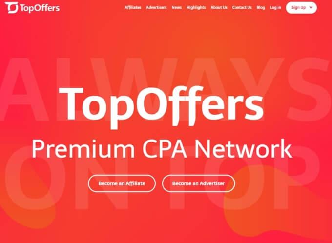 TopOffers Two Tier Affiliate Program