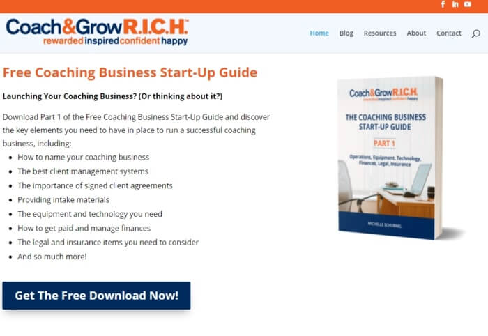 Coach And Grow Rich
