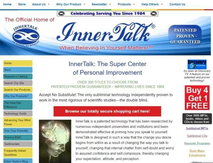 Innner Talk Personal Development Affiliate Programs
