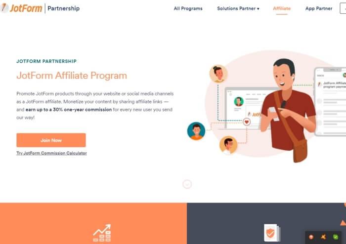 JotForm affiliate Program