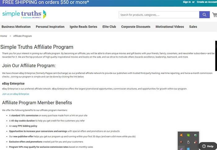 Best Personal Development Affiliate Programs Simple Truths