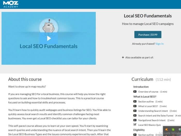 Local SEO Fundamentals By MOZ