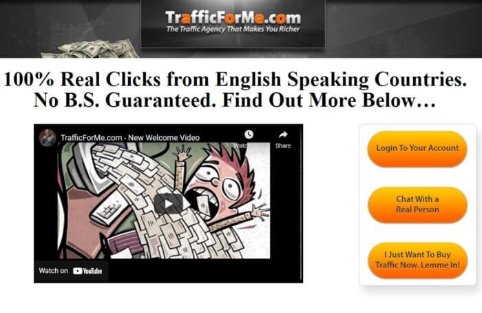 TrafficForMe Best Alternative Udimi